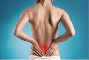 Dolor de espalda por hernia discal.